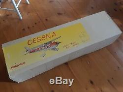 Model Tech co. Cessna 172 Balsa ready built series kit / new
