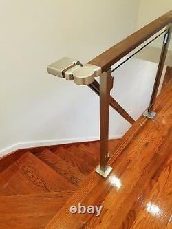 Modern Square Stairs Balcony Railing Kit GLASS NOT INCLUDED Custom Order