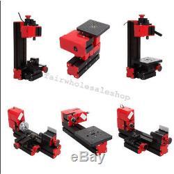 Multifunctional 6 IN 1 Lathe Wood DIY Tool Kit Jigsaw Milling Drilling Machine