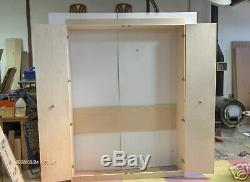 Murphy Bed Cabinet Full Cabinet Only Do it Yourself Kit Birch or Oak