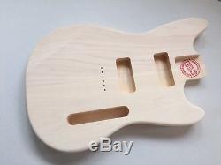 Mustang Style 2 P90 Pickup Body European Lindin Wood Legit Guitar Kits