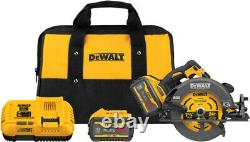 NEW DeWalt DCS578X2 FLEXVOLT 60V MAX 7-1/4 Circular Saw Kit with (2) 9 Ah Batt