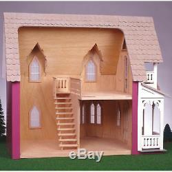 NEW! Greenleaf Dollhouses Vineyard Cottage Dollhouse