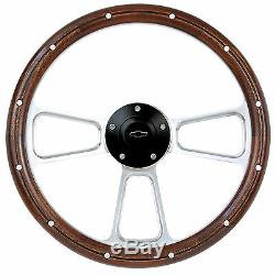 NEW ITEM! 1974-94 Chevy C/K Series Pick-Up Truck Two-Tone Steering Wheel Kit