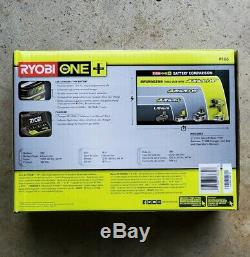 NEW RYOBI P166 18V ONE+ LITHIUM HP 3.0Ah Battery 2 Pack Starter Kit/Charger P191