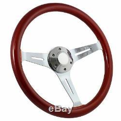 NEW WHEEL! 1960 -1969 Chevy C10 Pick Up Truck 15 Steering Wheel + Boss Kit