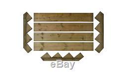 NEW Wooden Steps Set Step Deck stair kit Wood Caravan Patio Steps GARDEN DIY