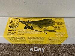 New Clancy Aviation The Amazing Lazy Bee Original RC Balsa Wood Airplane Kit 40
