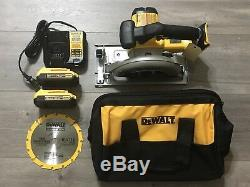 New Dewalt DCS391 20V 6-1/2 Circular Saw Kit (LIMITED #)
