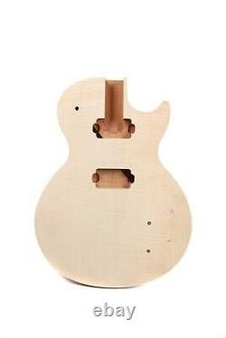 New Guitar Kit Guitar Body Guitar neck 22 fret 24.75inch Solid wood Set in