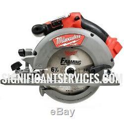 New Milwaukee 2730-20 FUEL M18 18V Li-Ion 6-1/2 5.0 Ah Circular Saw Kit