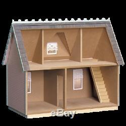 New Real Good Toys Victorian Cottage Jr Dollhouse Kit Doll House Wood Miniature