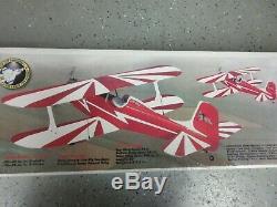 New SIG Hog Bipe Biplane RC Remote Control Balsa Wood Airplane Kit SIGRC69