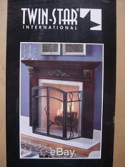 New Twin Star Fireplace Wood Surround Kit In Cherry Finish