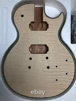 New Unfinished Electric Guitar Kit Guitar Neck & Body Mahogany all parts