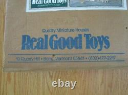 New Vintage Real Good Toys Front Opening Shop Dollhouse Kit 112 Wood