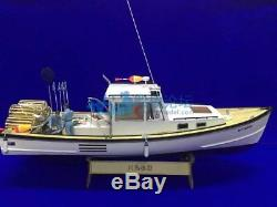 New Zealand shrimp boat 650mm 25 RC Wood Model ship kit