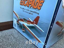 New in Box Great Planes Escapade RC Remote Control Airplane Kit ARF GPMA1200