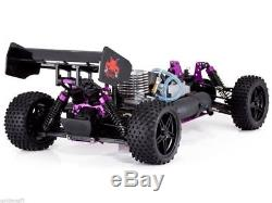 Nitro Powered RC Buggy Kids Adult Toy Fuel Starter Kit 1/10 Radio Control Hobby