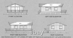 Northridge 26x40 Customizable Shell Kit Home, delivered ready to build