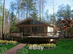 Northridge II 28 x 40 Customizable Shell Kit Home, delivered ready to build