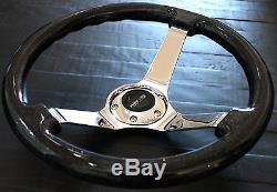 Nrg Short Hub Quick Release Steering Wheel Combo For Nissan 350z 370z