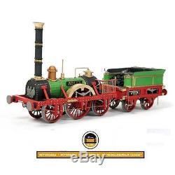Occre Adler Steam Train Locomotive 124 Scale Wood & Metal Model Kit 54001