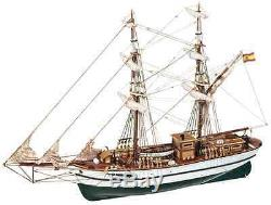 Occre Aurora Brig 165 Scale Wood & Metal Model Ship Display Kit New & Boxed