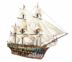 Occre HMS Bounty 1783 Cargo Ship 145 Scale Wood & Metal Model Kit 14006