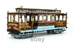 Occre San Francisco Cable Car 124 Scale 53007 Wooden Model Kit