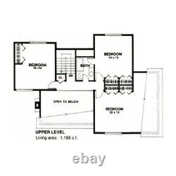 Oceanside Contempo 35x48 Customizable Shell Kit Home, delivered ready to build