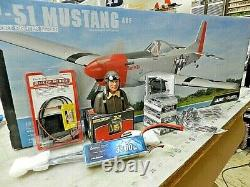 P51 Mustang GPMA1208 Complete kit with everything to build Bundle