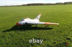 PRO RC PLANE Balsa Wood KIT DH-108 Swallow Jet EDF 90mm CNC For Adults NEW