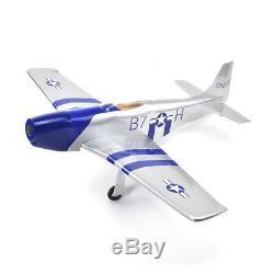 P-51 Mustang Balsa RC Plane WWII Warbird ARF Kit Park Flyer