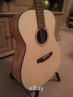 Parlor Guitar Diy Custom Guitar Kit Mahogany-spruce Top. All Solid Wood