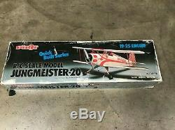 Pilot's Quick Built Series JUNGMEISTER-20 R/C Model Airplane Kit