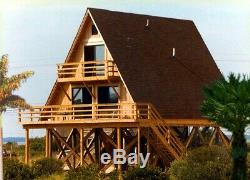 Prefab A-FRAME 26 x 34 Kit Home (Pre-fab, panelized, delivered ready to build!)