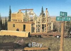 Prefab A-FRAME 32 x 38 Kit Home (Pre-fab, panelized, delivered ready to build!)