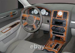 Premium Kit Fits Chrysler 300 2008 2009 2010 New Interior Wood Dash Trim 73 Pcs