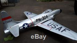 RC PLANE Kits P-80 Jet EDF 70mm wood 1100mm wingspan DIY for adults BEST GIFT