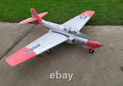 RC PLANE P-59 Airacomet Jet EDF 90mm CNC Balsa Wood kit for adults no motor NEW