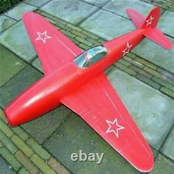 RC PLANE Yak 15 Jet EDF 90mm Wood Kit CNC for adults no motor aircraft NEW
