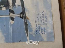 Rare Vintage ACE RC 1/3 scale weeks special 33% RC Wood Model Airplane Kit