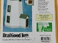 Real Good Toys New England Lighthouse 1/2 Inch Scale H-LH22 Wooden Dollhouse Kit