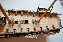 Revell USS Constitution 196 laser cut wooden deck for model