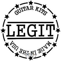 Reverse Stratocaster/ Telecaster Pickup Body European Lindin Wood Legit Kits