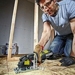 Rockwell RK3440K 4 Amp Corded Compact Circular Saw with 3-Blade Kit & Case