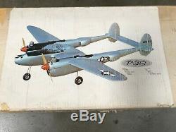 Royal's The P-38 LIGHTING R/C Model Airplane Kit & Cockpit Kit