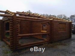 Russian Pine Wood Banya Sauna Outdoor Model Construction Kit 3 roomsFree ship