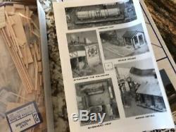 SASSEN VINEGAR WORKS HO SCALE BUILDERS IN SCALE Kit #8 Craftsman Kit NEWithMINT